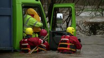 Drivers rescued as Storm Frank hits UK