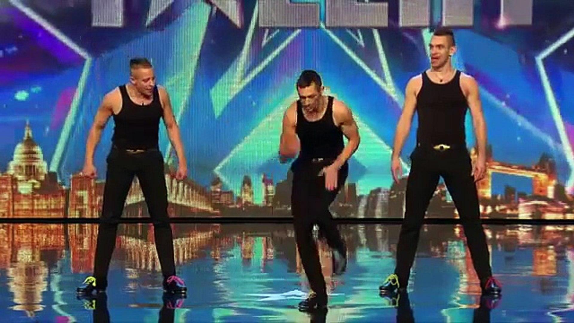 رقص رهيب باستخدام الايدي والارجل برنامج المواهب البريطاني 2015