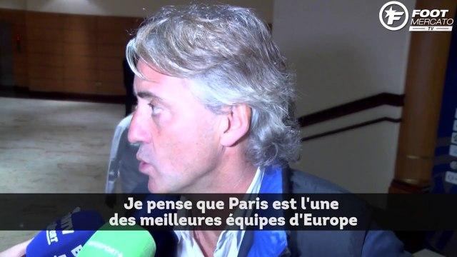 Mancini croit au PSG en Ligue des Champions