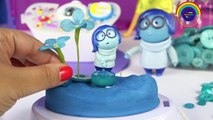Sadness INSIDE OUT GLITTER GLOBES SADNESS Disney Toys Character Blue World How to Make Your Own