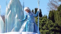 Flynn La Reine des Neiges et Raiponce - La Magie Disney en Parade - Disneyland Paris - 8 mars 2014