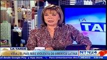 Tasa de homicidios en Vzla es de 90 por cada 100 mil habitantes: Pdte. ONG Observatorio venezolano de Violencia a NTN24