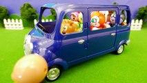 アンパンマンおもちゃアニメ ワゴン車に乗って公園へ行こう PPCandy Channel Anpanman Toy Anime