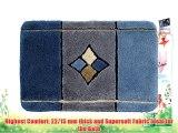 Akant Bathmat 60 x 60 cm 60 x 60 cm blue