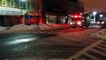 Kearny, NJ RARE RESCUE 2 RESPONDING 2/14/14