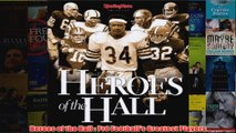 Heroes of the Hall  Pro Footballs Greatest Players