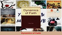 Download  Dynamics of Faith Ebook Online