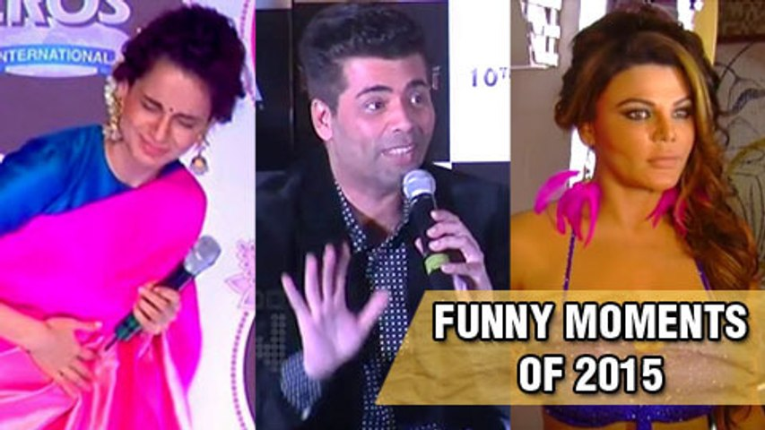 Celebs And Their Funny Moments With Media (2015)