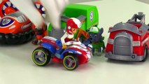 General Car Clown Paw Patrol Toy TRUCKS Parade! (Childrens Videos for Clowns & Kids)