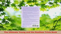 PDF Download  The Ultimate Young and the Restless Trivia Book PDF Online