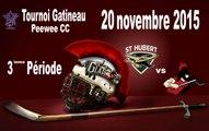 #1 -  20 novembre, Jets vs Glads, 3ieme periode,Tournoi Gatineau