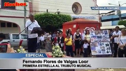 Homenaje a Fernando Flores de Valgas