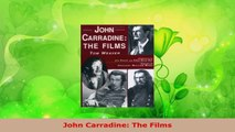 Read  John Carradine The Films Ebook Online