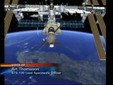 STS-130  EVA-3 (time lapse) [with overview]