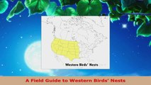 Read  A Field Guide to Western Birds Nests PDF Free