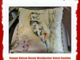 Voyage Maison Woody Woodpecker Velvet Cushion