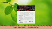 PDF Download  All Music Guide to Rock The Definitive Guide to Rock Pop and Soul 3rd Edition Read Full Ebook