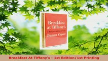Download  Breakfast At Tiffanys  1st Edition1st Printing Ebook Free