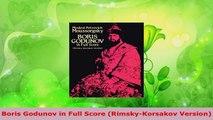 PDF Download  Boris Godunov in Full Score RimskyKorsakov Version Download Online