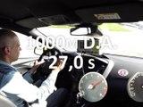 1000 m départ arrêté en Ford Focus ST