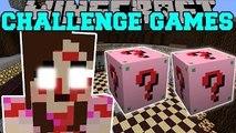 PopularMMOs Minecraft: JEN THE KILLER - Pat and Jen Lucky Block Mod GamingWIthJen