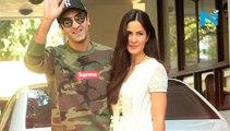 Awww! Ranbir Kapoor & Katrina Kaif caught kissing in their Balcony!
