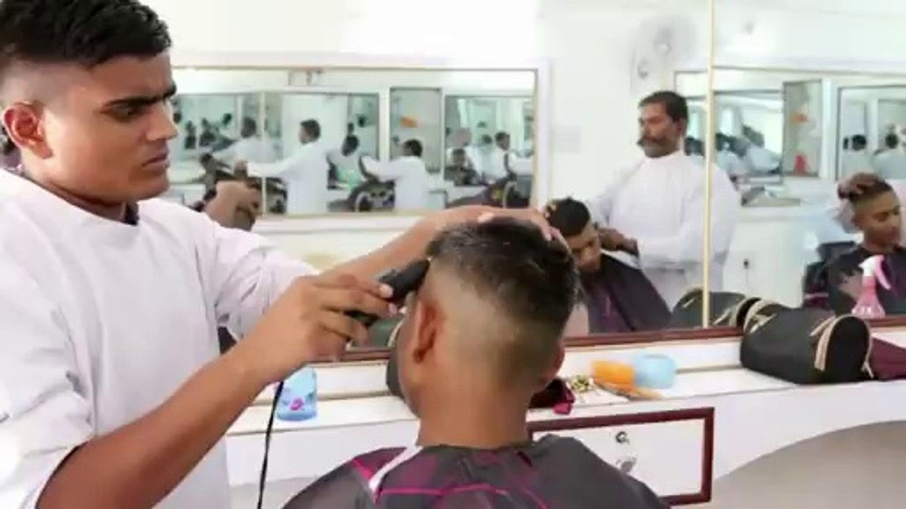 indian army academy haircuts training and gymnastics