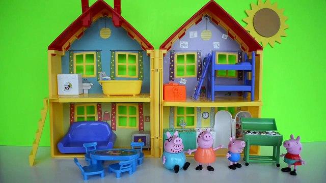 Pig George da Familia Peppa Pig com Medo da Catapora da Peppa. Em Portugues Tototoykids