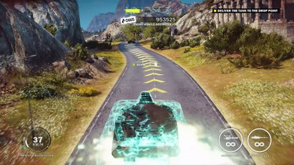 An Act of Piracy mission Electromagnetic Pulse story mission Just Cause 3 walkthrough commentary