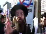Jews protest against Israel and Zionism.