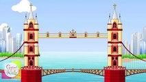 London Bridge is Falling Down Nursery Rhyme | Cartoon Animation Songs For Children