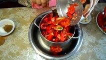 المطبخ التونسي - Tunisian Cuisine - HARISA TUNISIENNE - طريقة عمل الهريسة التونسية الحارة فى المنزل