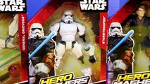 Disney Star Wars Hero Mashers Stormtrooper Darth Vader Anakin Skywalker General Grievous Get Mashed