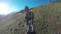 MUni Kitzbühel Weihnachten kein Schnee, Einrad statt Ski (UHD 29,97)