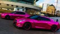 Pink Chrome Wrap Mustang GT Chrome Paint Perfected