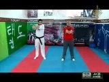 برنامج الجسم السليم الحلقة 45 تدريب تنفس للبنات قناة نور الشام taekwondo