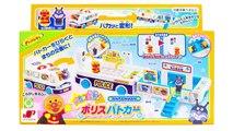 アンパンマンおもちゃアニメ パカッと変形ポリス パトカーで遊ぼう PPCandy Channel Anpanman Toy Anime
