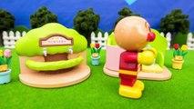 アンパンマンおもちゃアニメ 森のトイレでおしっことウンチ PPCandy Channel Anpanman Toy Anime Toilet Pee Poo