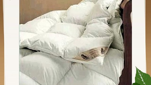 Viceroybedding Luxury 40% Down Super King Bed Size 9 Tog Goose Feather and Down Duvet