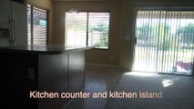The original kitchen counters and bathroom counters