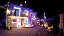 Maison illuminée noël 2015 bagnols sur ceze (son et lumière)