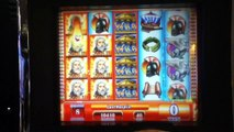 ZEUS II Slot Machine with BONUS RETRIGGERED, SUPER RESPINS and BIG WIN Las Vegas Casino