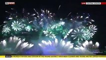London Fireworks Eve  Happy New Year 2016