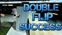 Skate 3 - DOUBLE FLIPS! (Skate 3 Funny Moments #7)