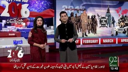 Lahore Naye Saal Ka Soraj Taloh – 01 Jan 16 - 92 News HD