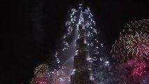 Dubai New Year burj e khalifa Fireworks 2016, Burj Khalifa 2016 ORIGINAL