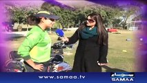 Pakistan women Cricket team kay saath - Samaa Kay Mehmaan,promo - 01 Jan 2016