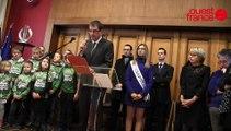 Les voeux 2016 du maire de Saint-Lô aux habitants