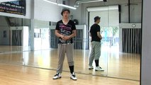 Beginner Hip Hop Combinations : Beginning Hip Hop Dance: Drop & Pop