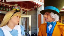 ALICE & MAD HATTER ARE TOO ADORABLE  DISNEYLAND!